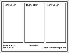 Cardz Tv sketch 5 - Scrapbook.com