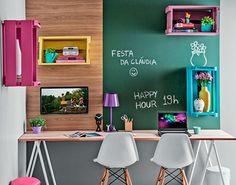 Da mesa à luminária: saiba como escolher móveis para o escritório
