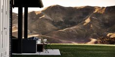 Lifestyle - Black Barn Holiday Retreats - Hawke's Bay - New Zealand. Outdoor Spaces, Outdoor Living, Exposed Rafters, Black Barn, Rural Retreats, Design Blogs, White Houses, Black House, Chic