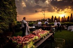 BBQ Wedding Reception, wedding barbecue dinner, barbecue wedding dinner in Italy