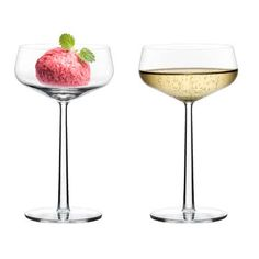 Ice cream and bubbles -  yes please! Essence drinking glasses