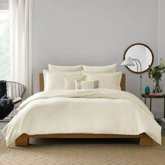 Real Simple® Lattice Pillow Sham - BedBathandBeyond.com