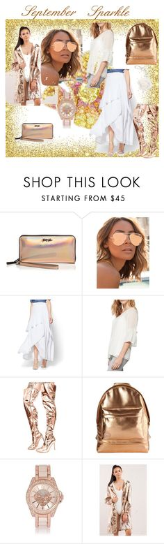 """September Sparkle"" by illuminatab on Polyvore featuring Nasty Gal, Quay, New York & Company, Mint Velvet, Cape Robbin, Mi-Pac, River Island, Skinnydip, affordable and luxury"