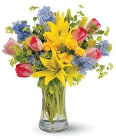 Capture the Joy of Spring Anytime by City Line Florist #Trumbull Florist