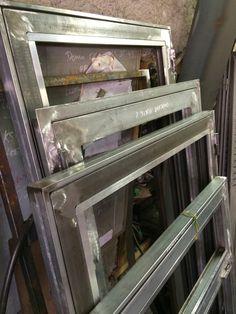 5 portes & fenetres sur mesure Acier + verre 4/16/4 5 custom doors & windows Steel + 4/16/4 glass #artisan #artisanat #surmesure #custom #fenetres #windows #isolation #inprogress #metalwork #metalworker #metallerie #home #followmywork www.oliviermarescaux.com