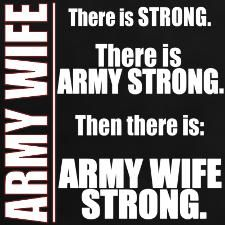 Army wife strong - MilitaryAvenue.com