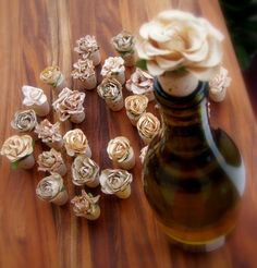 Decorative Wine Stoppers by KarasVineyardWedding