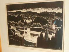 "Ilmar Torn ""Haanja maastik"" Graphic Prints, Auction, Artists"
