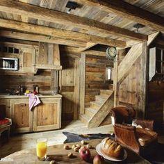 joli intérieur en bois