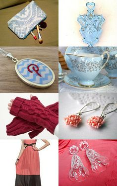An Afternoon Tea, Chat and Treasuries Team PRIZE Challenge by C.M. Cameron on Etsy--Pinned with TreasuryPin.com