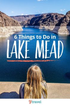 One of the best day trips from Las Vegas is to Lake Mead. Here are the 6 best things to do at Lake Mead, plus tips on tours, camping, RVing, driving tips, must see attractions such as the Hoover Dam, best hiking trails and biking tips, and how to get there!  #LakeMead #Nevada #travel #traveltips #roadtrip #roadtrips