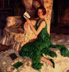 """ALFRED LAMBART. Juliet, hija de Richard H. Fox de Surrey, (1931). el vestido de este retrato social fue inspiración para la pelicula ATONEMENT, """"Expiación, deseo y pecado"""", lo llevaba la protagonista, Keyra Nightly en una de las escenas principales. La historia se desarrolla en los años 30..."""