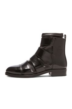 Image 5 of MM6 Maison Margiela Nappa Stretch Boot in Black