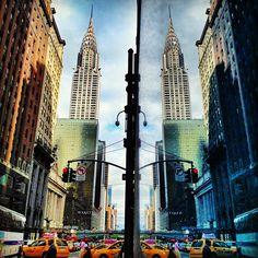 Chrysler Building and 42nd Street, New York City - @johndeguzman