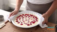 Baked Raspberry Custard | Everyday Food with Sarah Carey