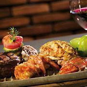 Location: Casa Manga Marriott Cancun.  Restaurant: La Capilla Argintina        Menue: Surf & Turf