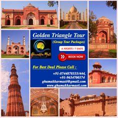 Ghumakkar Masti Holidays: Golden Triangle Tour Package You Can Afford