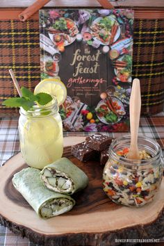 The Forest Feast Gatherings by Erin Gleeson, picnic menu | homeiswheretheboatis.net