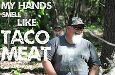 :-) My hands smell like taco meat.