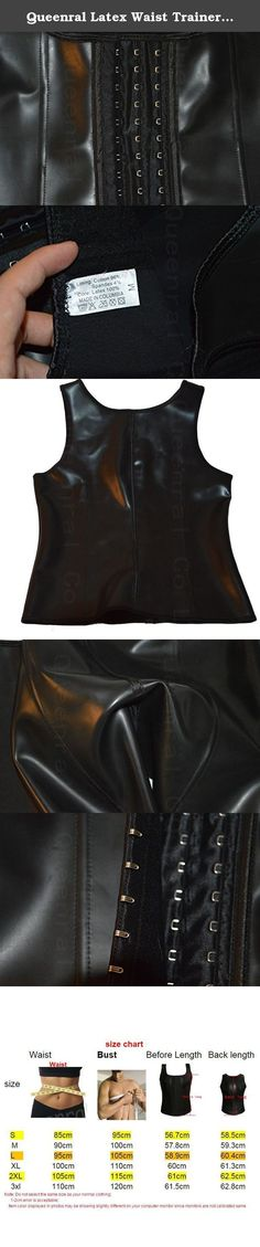 Queenral Latex Waist Trainer Men's Tummy Control Steel Boned Sport Shapewear. Waist trainer for men could help you keep a good shape and you could take it as a workout clothing. Underbust design give a free space so that you could do exercise breath freely. Take it to the gym or for a run outside and let it add impact to your healthy lifestyle routine. Please be advised that waist cinchers work on compression and thus, fit must feel very tight. A tight fit does not mean product is too…