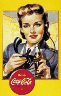Coca Cola - Alte Werbung