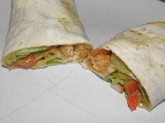 Mexická tortilla s kuřecí kari směsí Fresh Rolls, Tacos, Pizza, Ethnic Recipes, Food, Essen, Meals, Yemek, Eten