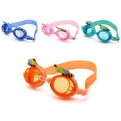 Fashion Unisex Kids Swimming Glasses Water Sports Goggles Antifog UV  1 Piece Random Color *** To view further for this item, visit the image link.Note:It is affiliate link to Amazon.