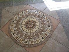 hacemos todo tipo de mosaicos para suelos, cualquier dibujo que nos traiga, nosotros se lo hacemos en cualquier formato que nos pida y con todo tipo de material. Terrace Tiles, Artist Monet, Paving Pattern, Cerámica Ideas, Mosaic Pictures, Dream House Interior, Mosaic Diy, Floor Patterns, Tile Art