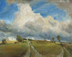 Byway, 40×50, oil on canvas, 2007 Oliver Akers Douglas