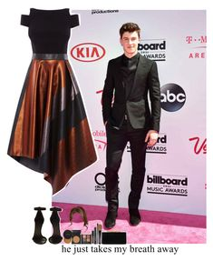 """Billboard red carpet with Shawn Mendes"" by jk-jaylene ❤ liked on Polyvore featuring Balenciaga, Coast, Isabel Marant and Jimmy Choo"