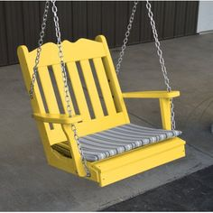 A Amp L Furniture Co Traditional English Swing Chair Porch