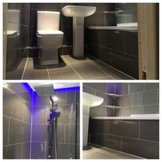 Full #bathroom remodel including #Whirlpool #bath, #suspended #ceiling with #RGB #LED #perimeter #lighting, #spot #lights, #Bristan mixer #shower, close coupled #toilet, #basin, #waterfall #mixer #taps & #Warmup #underfloor #heating. To see full fit start to finish click here - https://www.facebook.com/media/set/?set=a.213480915489169.1073741951.110464242457504&type=3 To see a video of our fit, visit & subscribe to our #YouTube channel - www.youtube.com/coupleatools
