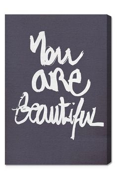 Free shipping and returns on Oliver Gal 'You Really Are' Wall Art at Nordstrom.com. A beautiful reminder is written in artistic script on a hand-stretched canvas that makes a sweet design statement.