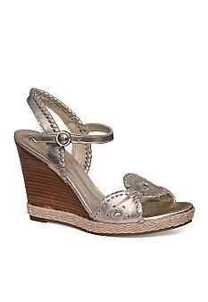 c432653a6109 Jack Rogers Clare Rope Wedge Sandal - Belk.com Leather Wedge Sandals