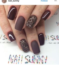 54 stylish fall nail designs and colors you& love - 38 stylish . - 54 stylish fall nail designs and colors you& love – 38 stylish fall nail designs and color - Classy Nails, Stylish Nails, Fancy Nails, Cute Nails, Pretty Nails, My Nails, Shellac Nails Fall, Gel Manicures, Acrylic Nails