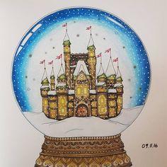 #johannaschristmas#johannabasford#prismacolor#christmas#coloringbookforadults