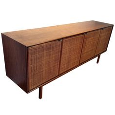 Early Florence Knoll Credenza from the 1950s | 1stdibs.com