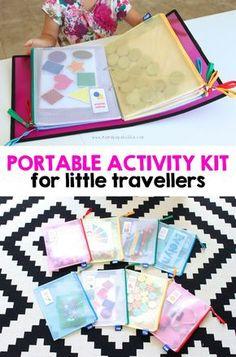 protable activity kit for little travellers