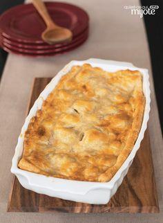 Plat de brocoli et de fromage en croûte - Facile à faire avec de la pâte feuilletée du commerce #recette