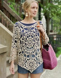 Crochetemoda: Crochet top with diagrams (and more!)*