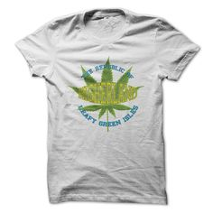 Show your love of the emerald leafy green isles with this funny cannabis inspired shirt. Check out our other shirts over here at www.zedordead.co.uk Copyright 2015 ZEDorDEAD
