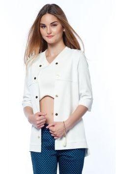 Sense Kadın Ekru Ceket https://modasto.com/sense/kadin-dis-giyim/br2534ct54