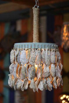 handmade Sea Sprite Oyster Shell Sconce $500