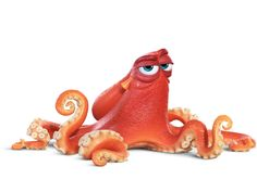 Hank the octopus is voiced by Ed O'Neill