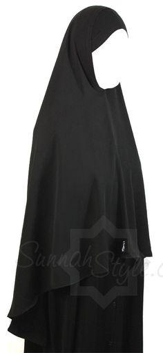 Waist Length Khimar by Sunnah Style #SunnahStyle #hijabstyle #khimar