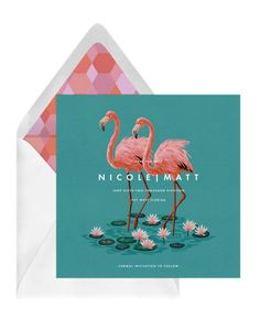 Everglades Save The Date – Greenvelope Digital Save The Date Wedding Invitations – Bridal Musings Save the date! #bridalmusings #bmloves #savethedate #weddinginvitation Wedding Stationery, Wedding Invitations, Bridal Musings, Love S, Travel Pictures, Save The Date, Dating, Digital, Rest