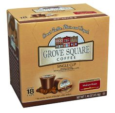 Grove Square Coffee, Medium Roast, Single Serve Coffee Cup for Keurig K-Cup Brewers, 18-Count (Instant Coffee) null,http://www.amazon.com/dp/B006M1DWPG/ref=cm_sw_r_pi_dp_9Koetb1VS27MS4AR
