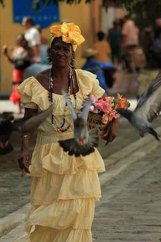 Traditional dress - Havana, Cuba