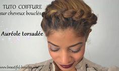 http://beautiful-boucles.com/tutoriel-couronneaureole-torsadee-pour-cheveux-boucles-ou-frises-2/ Un tutoriel pour attacher ses cheveux bouclés en une jolie auréole torsadée !
