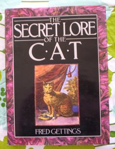 "Vintage ""Secret Lore of the Cat"" Book - Fred Gettings - Cat Lover - Folklore - Occult - Myth - Magic"